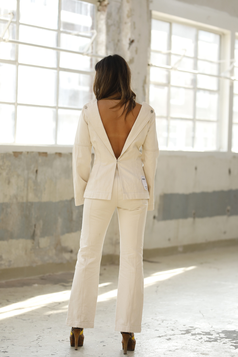 Weekday blouse offwhite