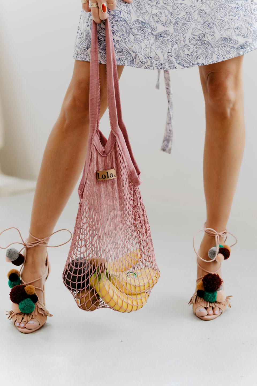 Zara Pon Pon heels