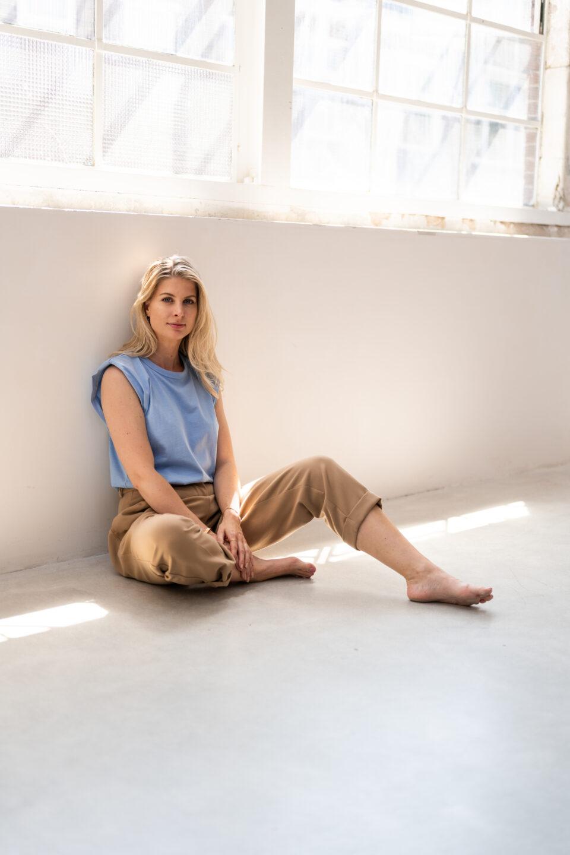 Zara Pantalon Beige