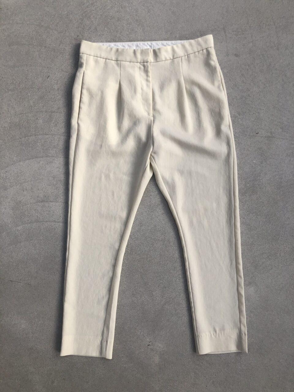 ACNE pantalon mintgroen